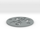 SUS Disc LowCost 2 in Polished Metallic Plastic