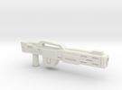 Rifle (Upscaled) in White Strong & Flexible