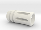 M16 Flash Suppressor in White Strong & Flexible