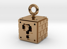 Mario 8-Bit ?-Box 2 in Polished Brass