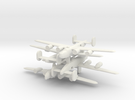 1/600 Consolidated B-24 Liberator in White Strong & Flexible