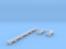 N Scale Budd Silverliner Roof Detail Set  in Frosted Ultra Detail
