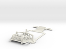 Sub-chassis V6 Mazda787 LMS 102mm in White Strong & Flexible