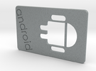 Android in Polished Metallic Plastic