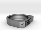 Fire Ring - Captain Series - Mulder&Skully in Premium Silver