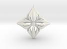 Star Ornament in White Strong & Flexible