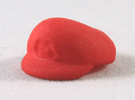 M-Plumber Cap in Red Strong & Flexible Polished