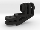 GoPro Compact 90 Degree Elbow Mount Long Version in Black Strong & Flexible