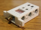 Immersion RC 600mw TX Holder - Generic in White Strong & Flexible