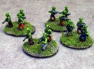 15mm Greenskin Gobbos (x12) in White Strong & Flexible