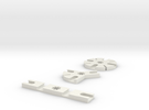 Iceblock Stick Joiners (set of 3) in White Strong & Flexible
