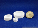 Round Tray Collection 1:12 Dollhouse Miniatures in White Strong & Flexible Polished