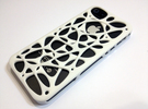 iPhone 5/5S case - Cell 2  in Blue Strong & Flexible Polished