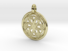 Carme pendant in 18K Gold Plated