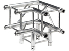 Square truss corner 1:10 in White Strong & Flexible