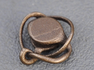Cylinder Knot in Matte Bronze Steel