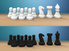 Additional Pieces (For Complete Set) in White Strong & Flexible Polished