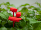 Plant surveillance kit - CCTV in Red Strong & Flexible Polished
