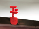 CCTV Surveillance clip - Macbook Pro in Red Strong & Flexible Polished