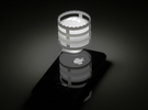 Lightclip: Batman, iPhone 4/4S in White Strong & Flexible