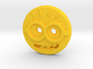 Minion Shirt Button in Yellow Strong & Flexible Polished