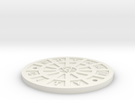 Gotham Manhole � Sixth Scale  in White Strong & Flexible