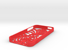 iMoko iPhone 5 cover in Red Strong & Flexible Polished