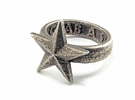 Star Ring (various sizes) in Stainless Steel