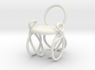 Chair No. 40 in White Strong & Flexible