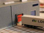N Scale 3x Loading Dock +Door