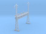 CATENARY PRR LATTICE SIG 4 TRACK 2 PHASE N SCALE