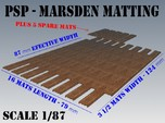 1-87 Marsden Matting Section
