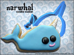Narwhal Cookie Cutter