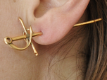 Rapier Earrings (17th c. Sword)