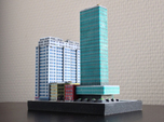 New York Set 1 Office Building 3 x 2
