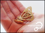 Butterfly Cocoon pendant