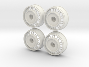 TRIANG WHEELS REAR ONLY 16 in White Strong & Flexible