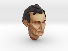 1:6 scale Full Color Abe head in Full Color Sandstone