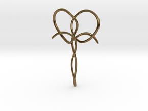 Interwoven Faith in Polished Bronze