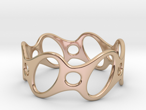 Fantasy Bracelet 70 in 14k Rose Gold Plated
