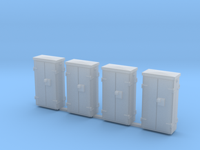 OO Gauge Location Cabinets in Frosted Extreme Detail