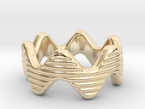 Zott Ring 20 - Italian Size 20 in 14k Gold Plated