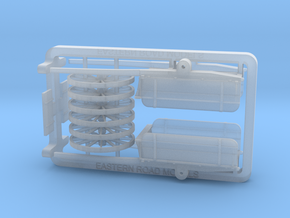 HO Scale Dump Cart X 2 in Frosted Ultra Detail