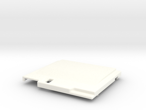 TED V2 Type DUO Shell in White Strong & Flexible Polished
