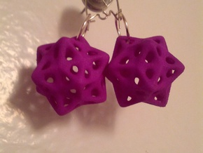 biostar earrings  in Black Strong & Flexible