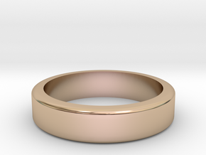 Knuckle Ring in 14k Rose Gold Plated