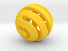 Ball-11-4 in Yellow Strong & Flexible Polished