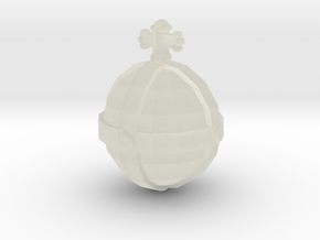Holy Hand Grenade:Tf2 Edition Action Figure Size in Transparent Acrylic