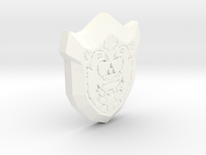 Mirror Shield for Nendoroid Link in White Strong & Flexible Polished