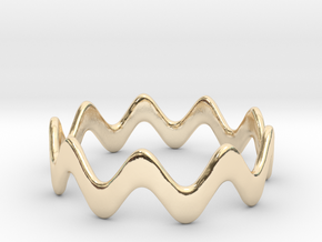 Yumi collection - Size 6 US in 14k Gold Plated